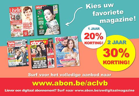 Sanoma magazines aclvb for Sanoma magazines belgium